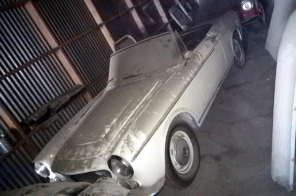 1961 Fiat 1200 Spider