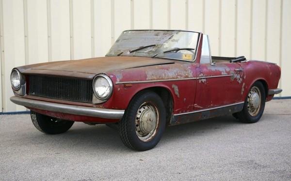 1961 Innocenti Spyder