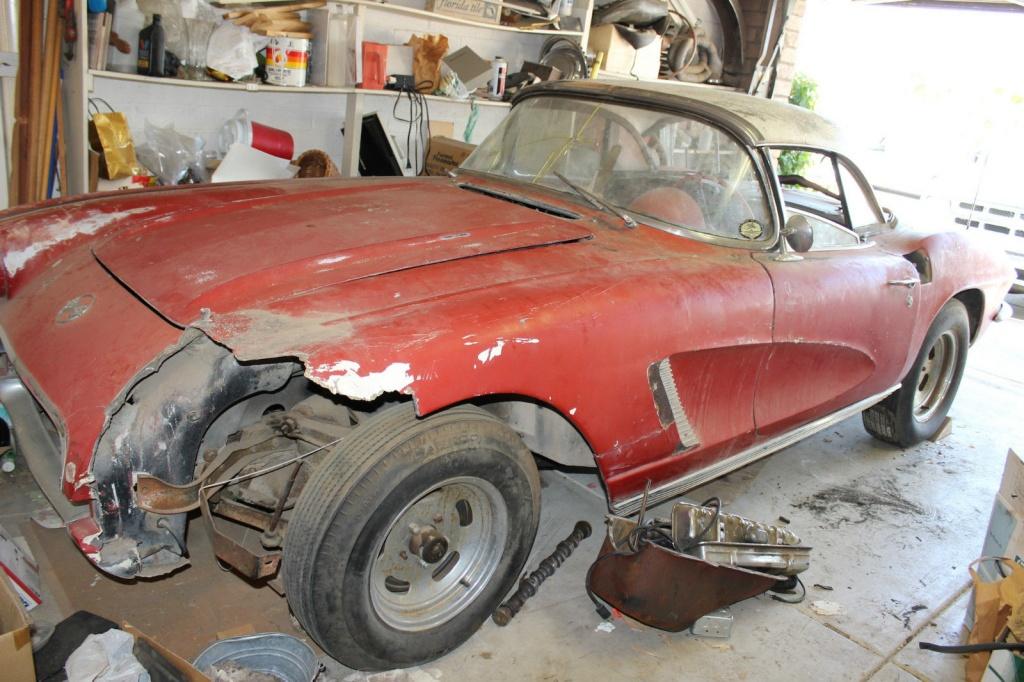 1962 Corvette Dream Or Nightmare