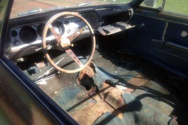 Too Rusty 1964 Chevelle Convertible