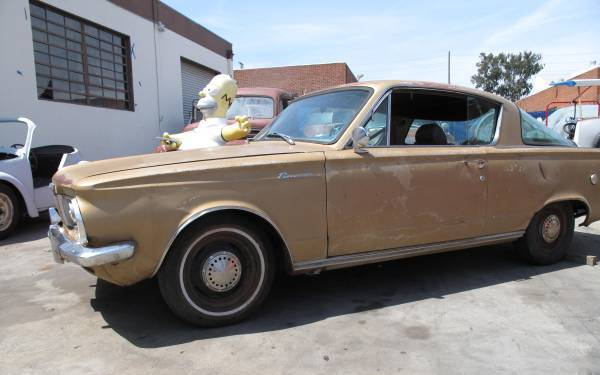 Fliparoo 1964 Plymouth Barracuda