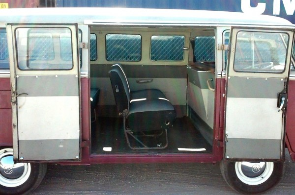 1966 VW 15-Window: Hippie Bus