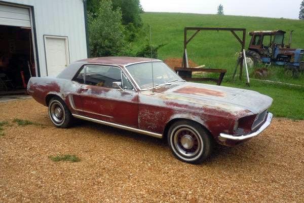 1968 Mustang 289: Rough Runner