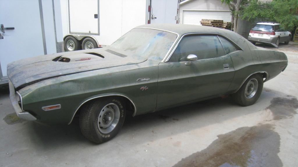 Shaker Hood 1970 Dodge Challenger R T
