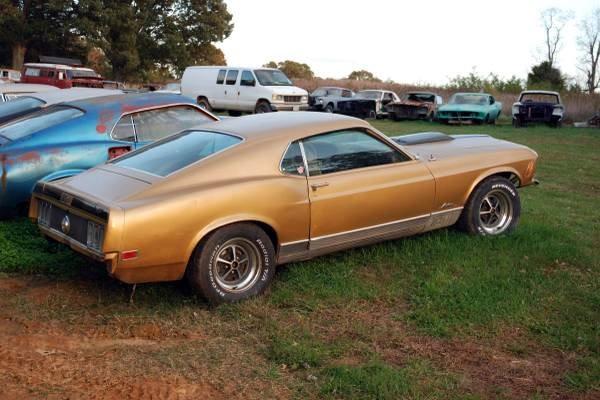 1970 Mustang Mach I: Golden Pony
