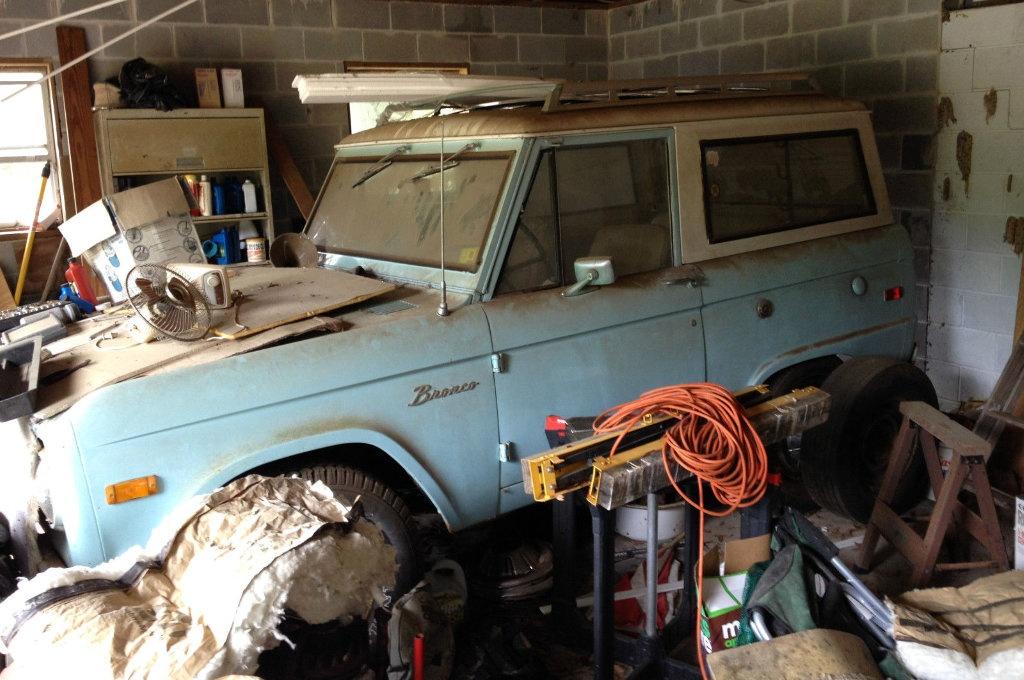 1971 Ford Bronco: 4x4 Fixer Upper