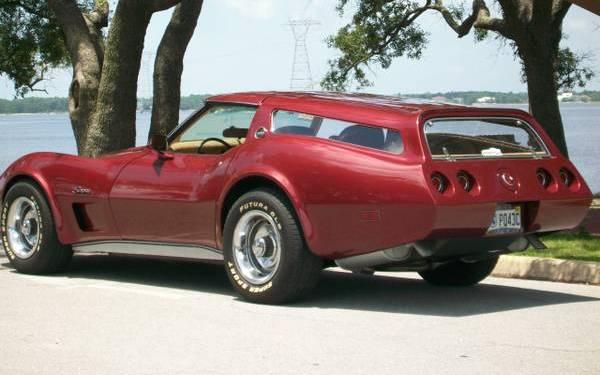 Very Hot Hatch 1975 Corvette Sport Wagon
