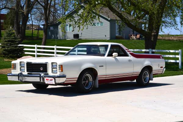 Ford Gt With A Bed 1978 Ranchero Gt