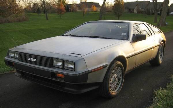 4k Mile 1983 DeLorean DMC-12