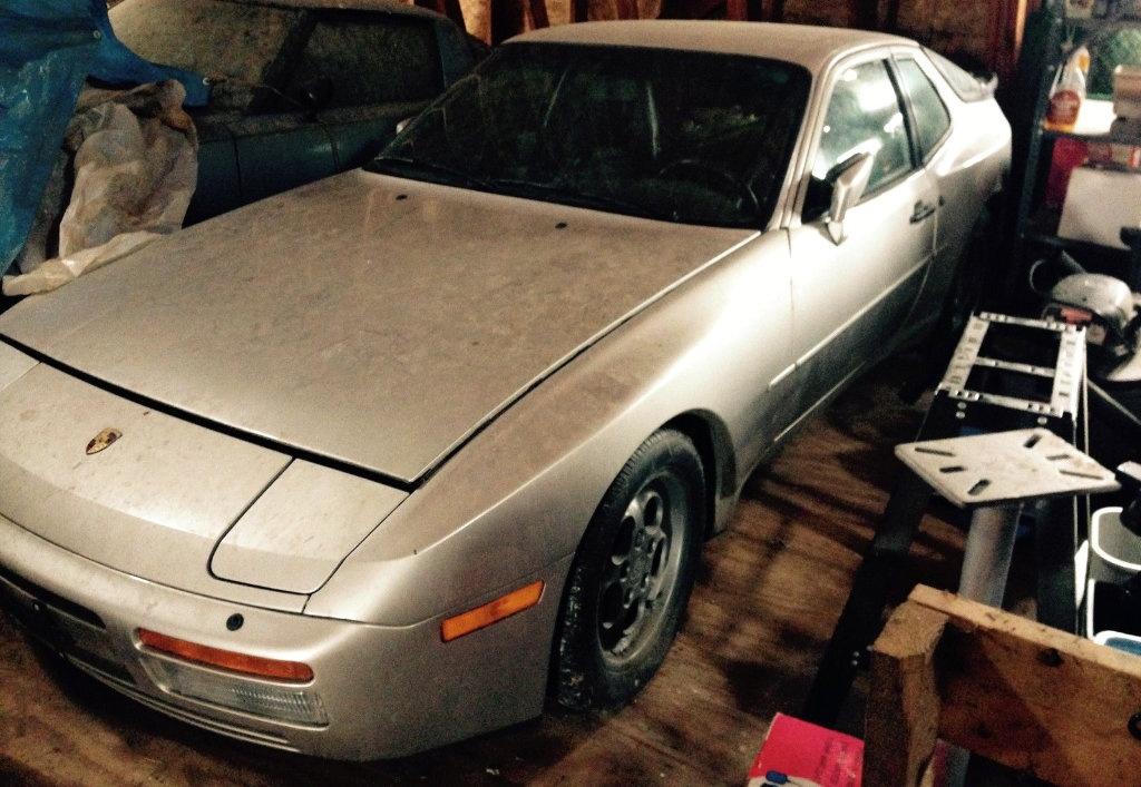 1986 porsche 944 turbo barn find