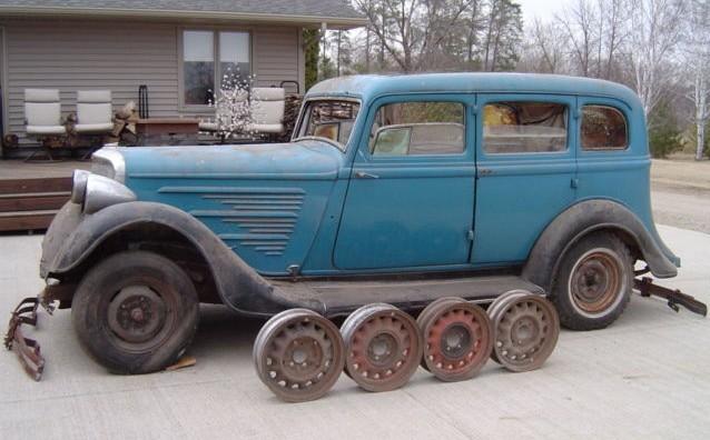 35 Years Stored: 1934 Dodge