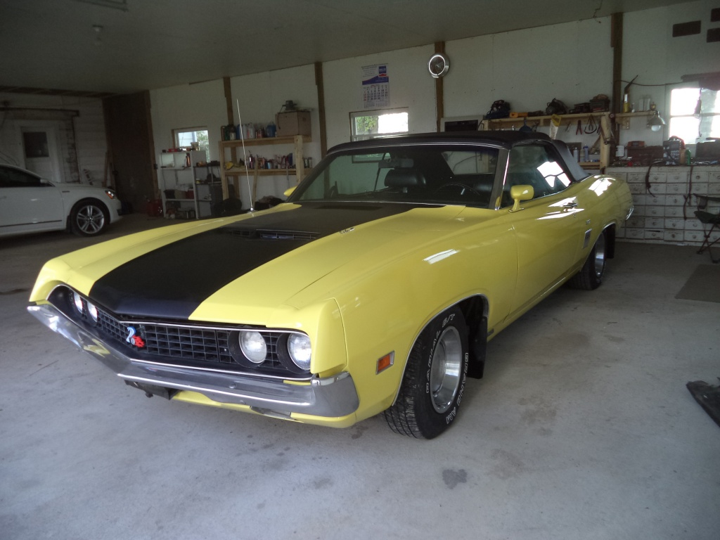 Our New Project 1969 Ford Torino Gt Convertible Darn