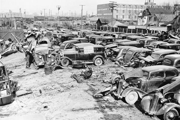 Detroit Auto Graveyard