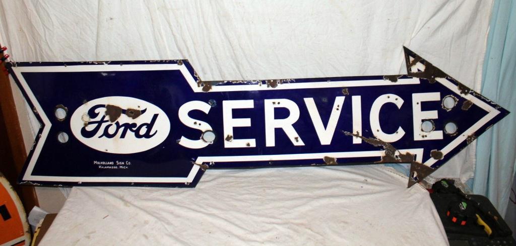 Old Garage Signs : For the garage vintage signs
