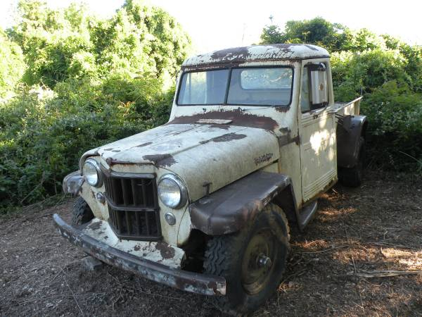 Stakeside 1948 Willys Truck