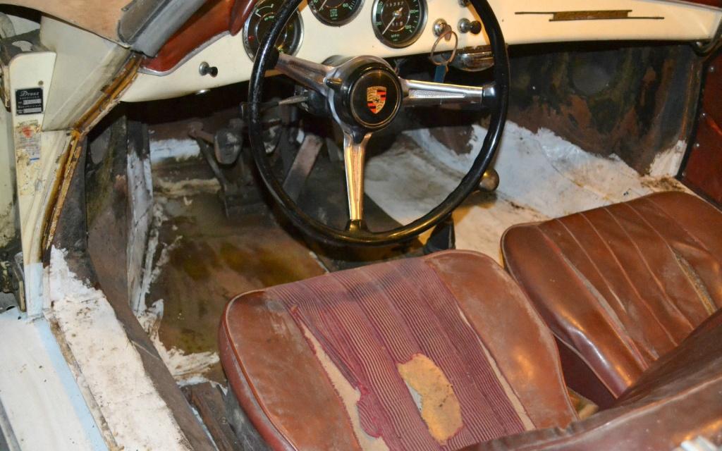 parked since 39 80 1960 porsche 356b roadster. Black Bedroom Furniture Sets. Home Design Ideas