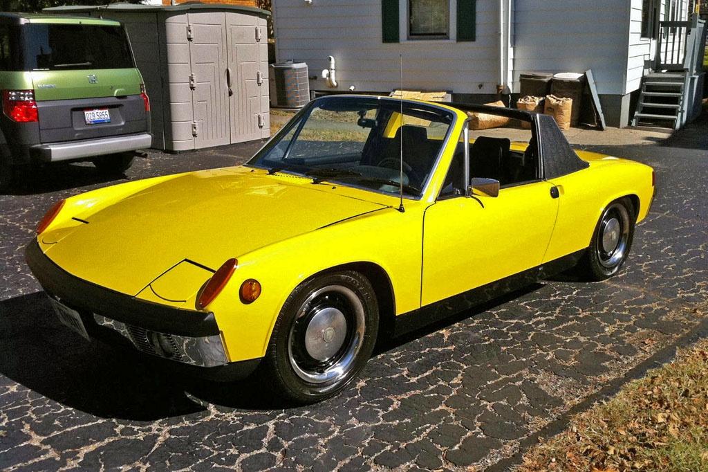 Car Lot Near Me >> Not Slowing Down: 1971 Porsche 914-6