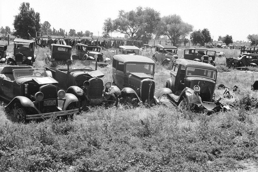 Vintage Auto Salvage Yard - YouTube |Salvage Yard