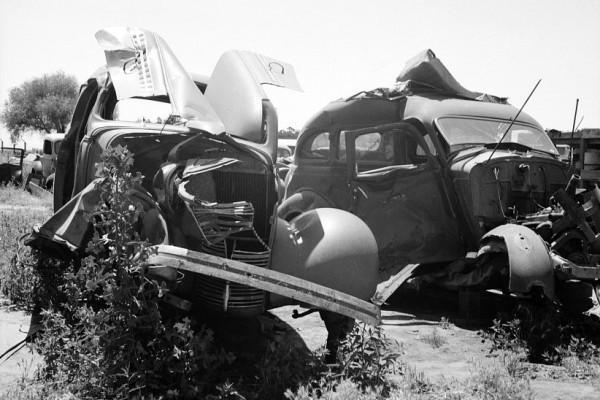 Tulare California Wrecks in 1939