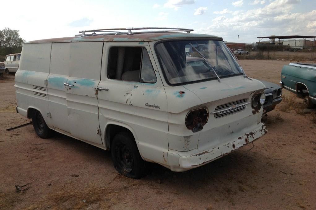 Step Van For Sale >> 'Vair Van: 1961 Corvair Greenbriar