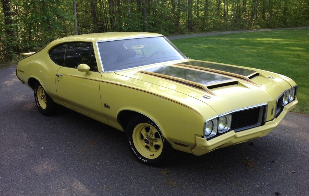 Car Auctions Ny >> 1970 Oldsmobile Rallye 350: Bold Looks