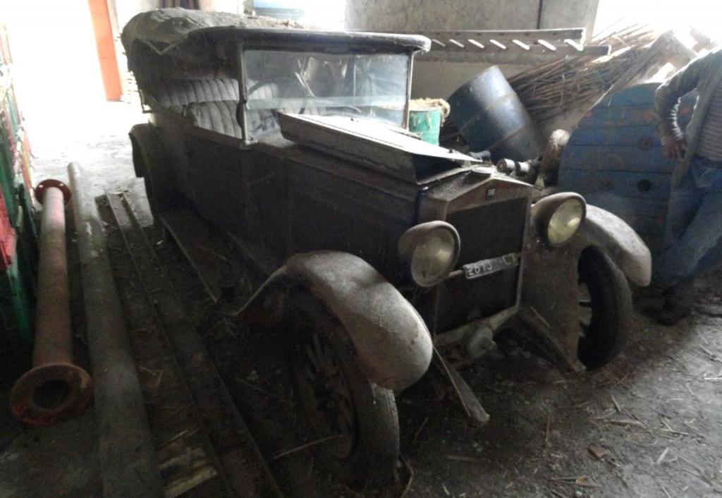 1926 Fiat 509 Torpedo Italian Barn Find