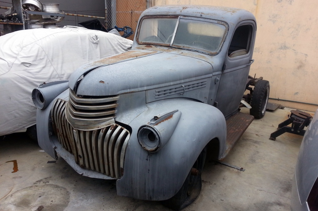 1936 chevy pickup  looking for a good home