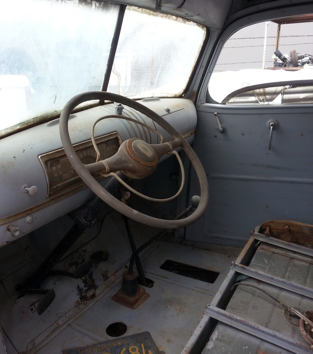 Chevy Interior