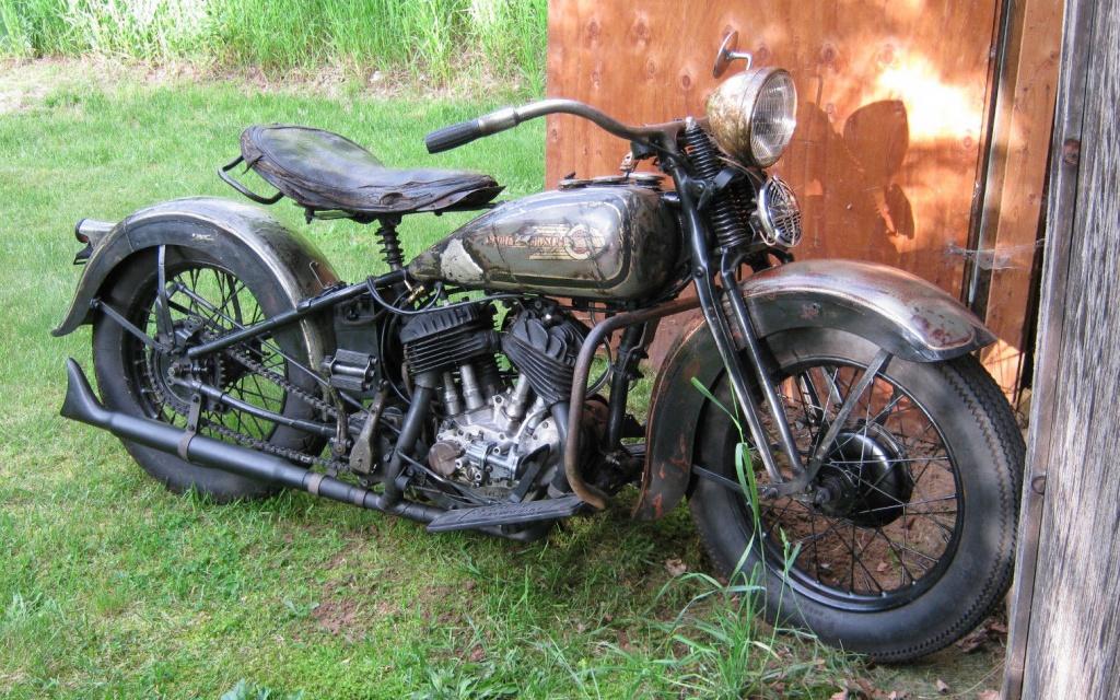 1936 Harley-Davidson RLD
