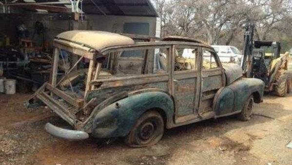 Warped Wagon: 1948 Chevrolet Fleetmaster