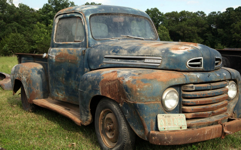 Barn Beater 1950 Ford F1