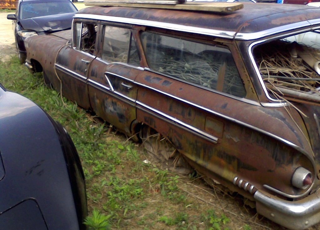 Used Car Auctions >> 1958 Chevrolet Nomad: Parked And Stuffed