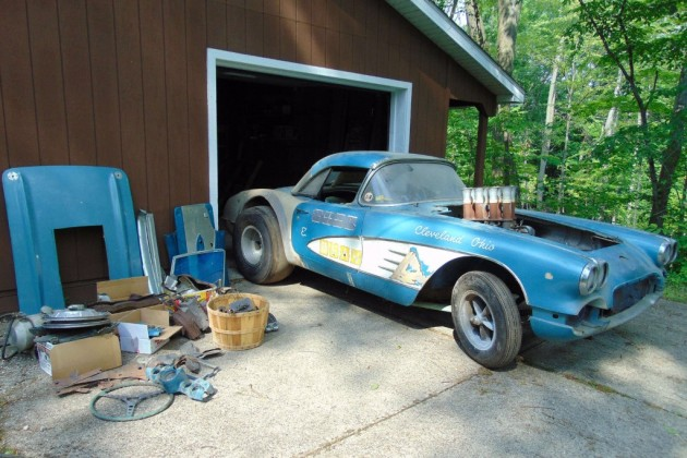 Old Chevy Cars >> 1959 Corvette Dragster: Period Gasser