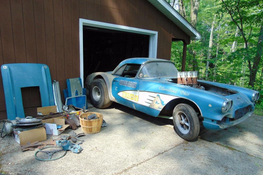 1959 Corvette Dragster: Period Gasser