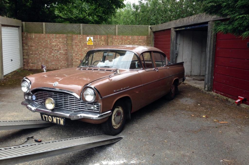 1961 vauxhall velox garage find for Garage finder