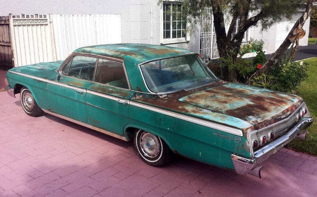 Derby Cars For Sale >> 1962 Chevrolet Impala: Gator Green