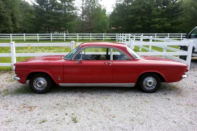 Clean Find: 1963 Corvair Monza