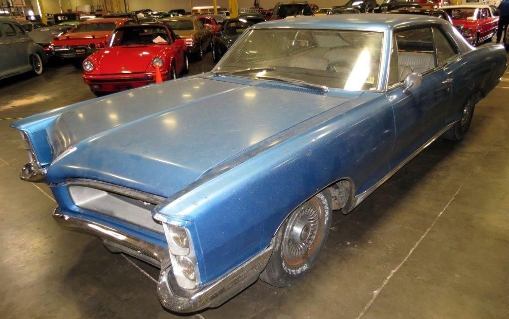 1966 Pontiac Grand Prix 389 CI, 8 Lug Wheels for sale by Mecum ...