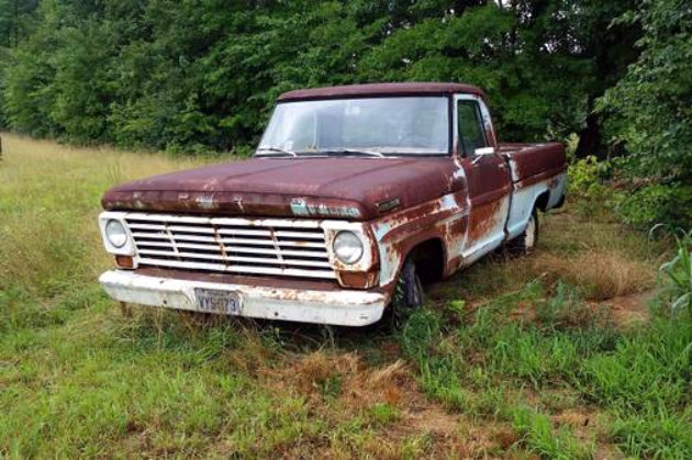 1967 Ford F100 Shortbed Project