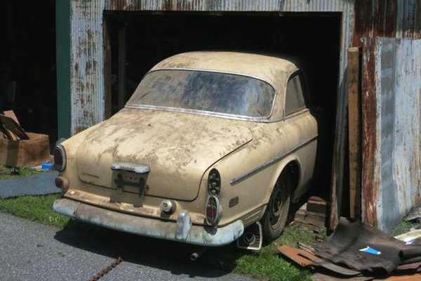 1968 Volvo 122S: Bullet Proof Barn Find