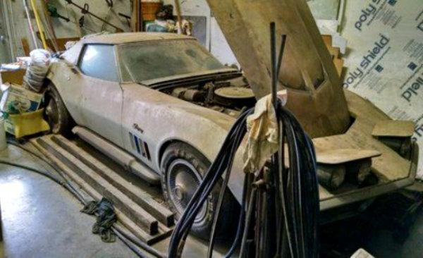 Corvette Stingray 1969 >> Dusty 1969 Corvette 427 Stingray