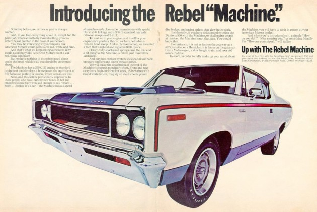 find an amc rebel machine for the 4th. Black Bedroom Furniture Sets. Home Design Ideas