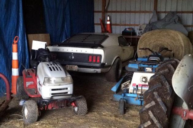 2015 Mustang Mach 1 >> 1970 Mustang Boss 302 In The Barn