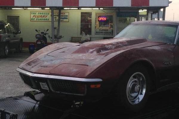 corvette 1972 bulge power barnfinds