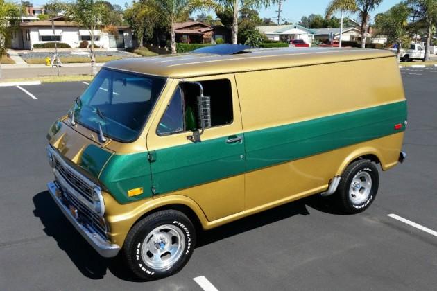 1972 Ford E Series Custom Shorty Van