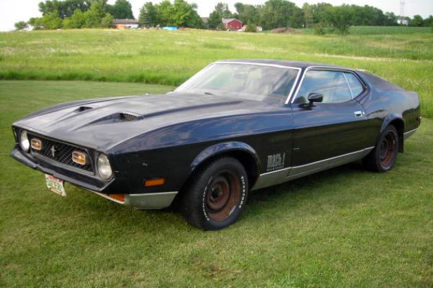 1972 mustang mach 1 feeling green. Black Bedroom Furniture Sets. Home Design Ideas