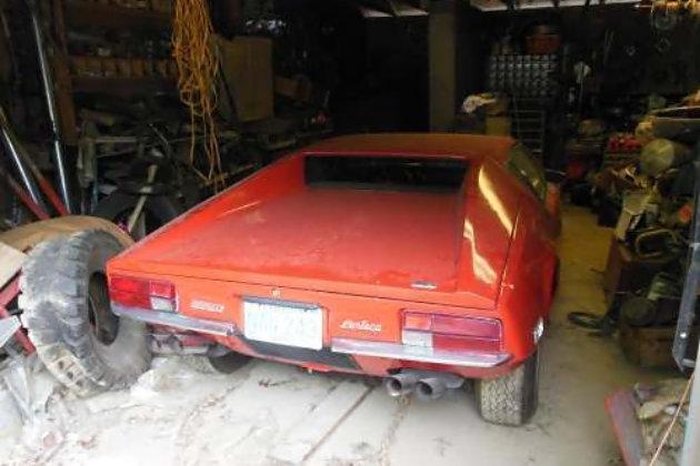 1972 DeTomaso Pantera: Stored Supercar