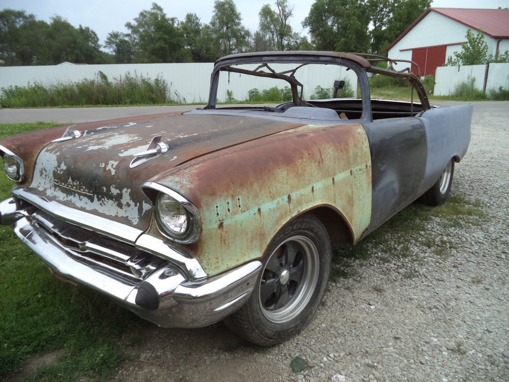 1957 Chevy Convertible For $6,500!