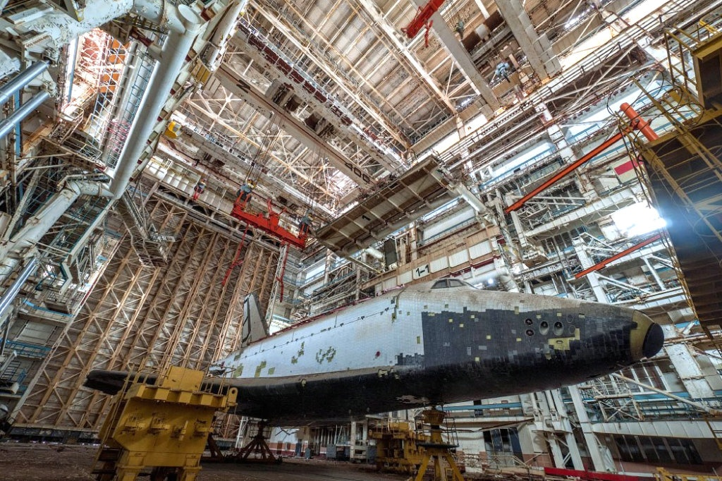 Biggest Barn Find Ever: Russian Space Shuttles