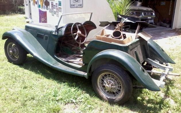 Chucks 1955 MG TF